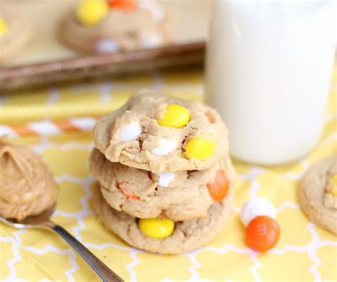M M Peanut By Food And Such peanut butter white chocolate m m cookies 5 boys baker