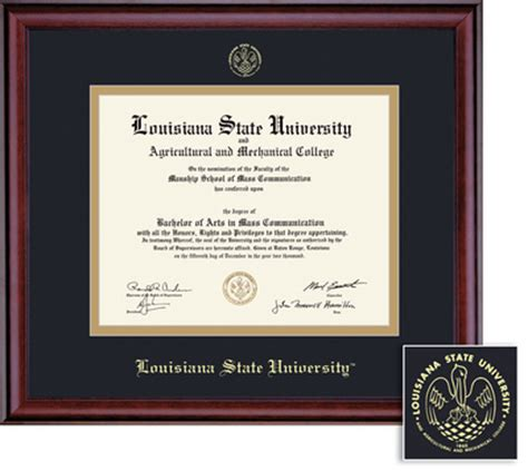 Lsus Mba Diploma by Barnes Noble At Lsu Bookstore Framing Success Classic