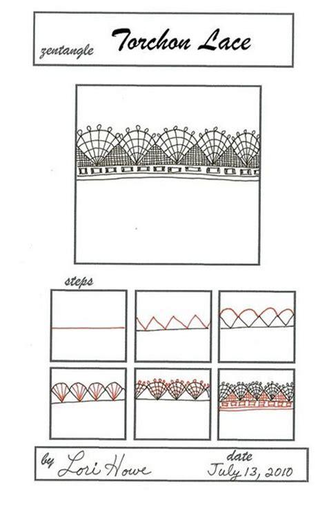 zentangle pattern lace 3189 best zentangle patterns images on pinterest