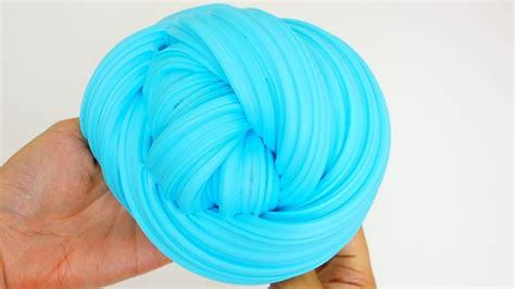 Blue Fluffy blue fluffy slime oddly satisfying asmr