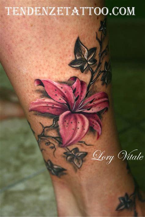 tatuaggio fiore ibisco fiori by tendenze