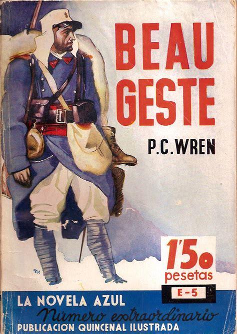 libro beau geste la antigua biblos beau geste p c wren