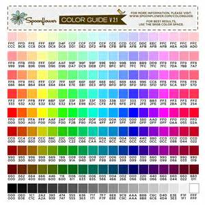 best color hex codes color guide swatch 171 colors hex codes spoonflower