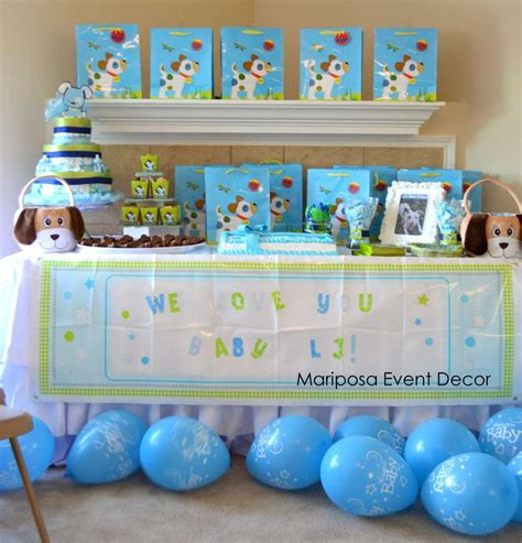 How Does A Puppy To Be To Shower by Puppy Baby Shower Ideas Photo 6 Of 10 Catch