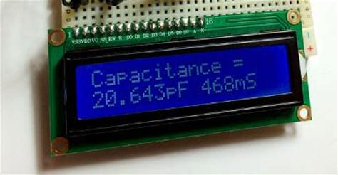 capacitance meter arduino experimenting with arduino powered capacitance meters freetronics