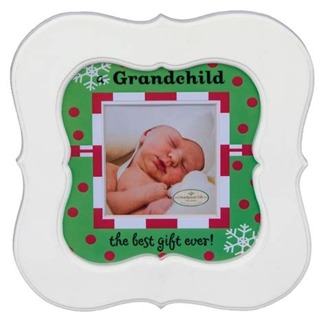 grandchild christmas frame new grandparents christmas