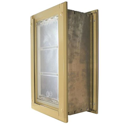 Pet Doors For Walls by Endura Flap 8 In X 15 In Medium Single Flap For Walls