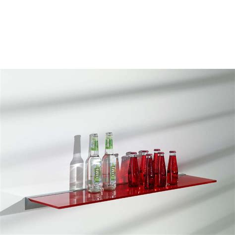 glass shelf kit 600x200x8mm mastershelf