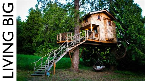 real treehouse life in the trees with the treehouse masters youtube