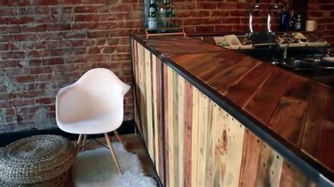 Handmade Shoo Bar - custom coffee bar build