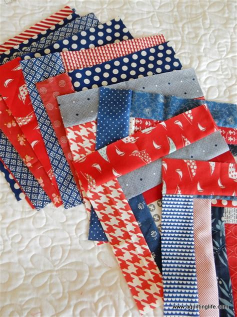 Scrappy Quilt Blocks by Scrappy Log Cabin Quilt Blocks A Quilting A Quilt