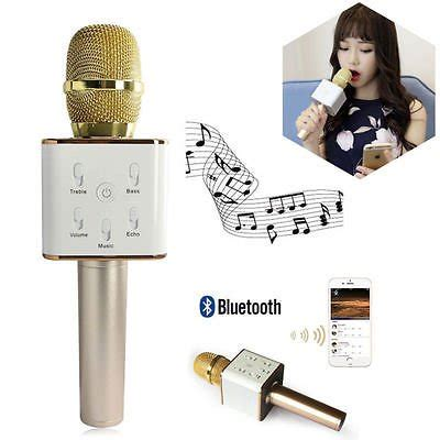 Tuxun Q7 K078 Portable Wireless Karoke Microphone Bluetooth 4 jual beli murah tuxun q7 k078 portable wireless