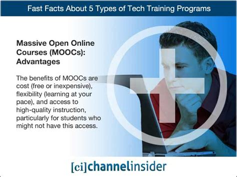 fast facts   types  tech training programs