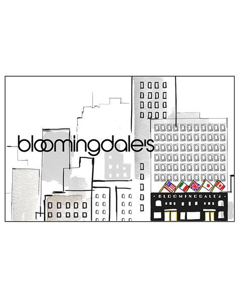 Bloomingdales E Gift Card - bloomingdale s cityscape e card bloomingdale s