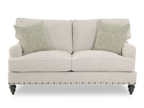 broyhill upholstery fabric broyhill esther fabric loveseat mathis brothers furniture