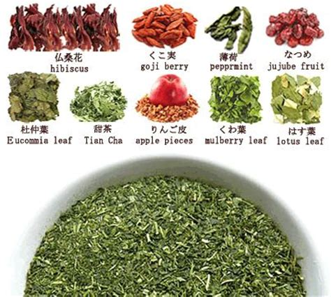 Detox Herbal Tea Hibiscus by Traditional Japanese Weight Loss Diet Tea Konacha Powder