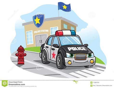 volante della polizia volante della polizia fumetto foto stock iscriviti