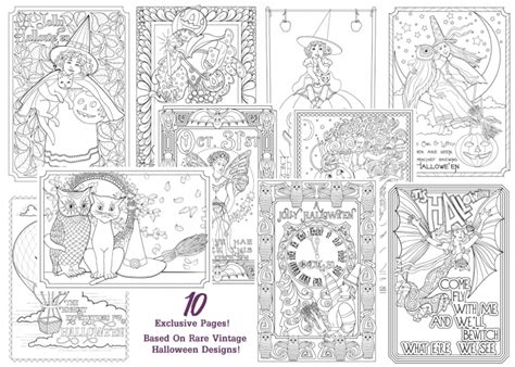 vintage coloring book for adults new vintage downloadable coloring