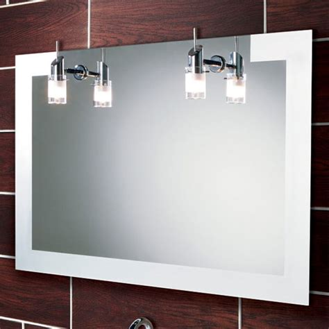Bathroom Mirror Lights Uk Hib Felix Illuminated Mirror 64283495 At Plumbing Uk
