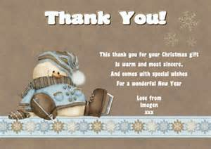 Thank You Letter Xmas Gift 25 Off Our Christmas Thank You Notes