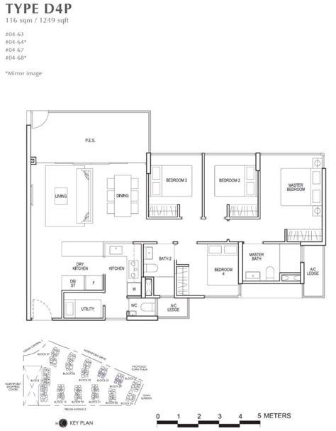 Northpark Residences Floor Plan by Park Residences Floor Plan