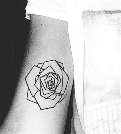 tattoo geometric rose 1000 ideas about geometric rose tattoo on pinterest