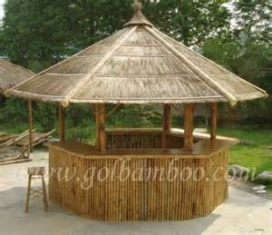 Umbrella Gazebo by Bamboo Gazebo Bar House Pavilion Canopy Umbrella