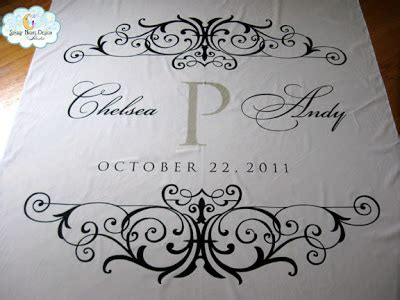 Wedding Aisle Runner Monogram by Aisle Paint For You Monogram Aisle Runner For Chelsea