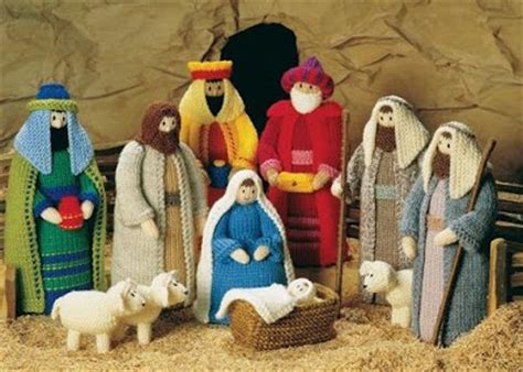 Knitting Pattern Nativity | michelle made this knitted nativity