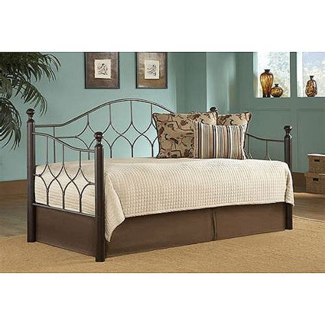fashion bed metal and wood daybed
