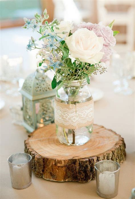 rustic jar centerpieces for weddings 25 best ideas about outdoor wedding centerpieces on
