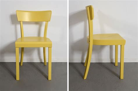 gelber stuhl gelber frankfurter stuhl archive retro salon cologne