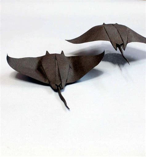 Sting Paper Crafts - stingrays manta rays