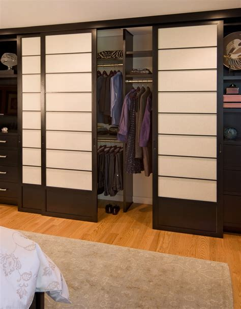 japanese sliding closet doors 20 asian closet design ideas decoration