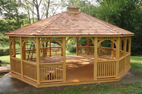 gazebi in legno prezzi gazebo in legno accessori per esterno