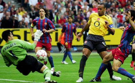 arsenal barcelona 2006 arsenal target euro glory wenger believes his gunners can