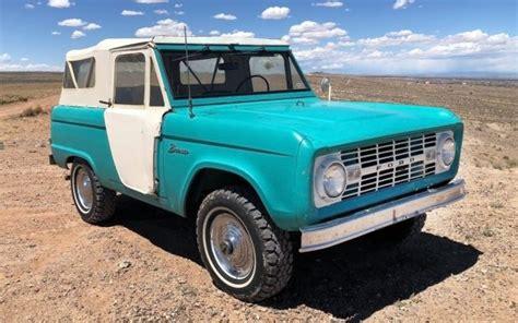 rare  roadster  ford bronco survivor