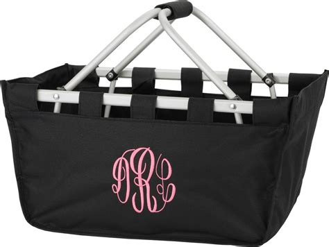 black  market utility tote large basket bag