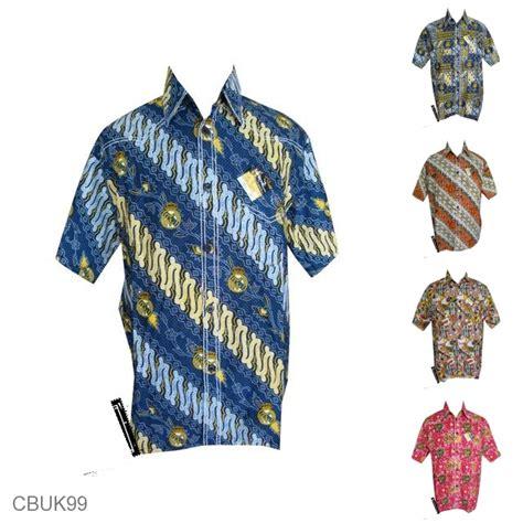 Baju Batik Bola baju batik kemeja smok motif batik bola real madrid