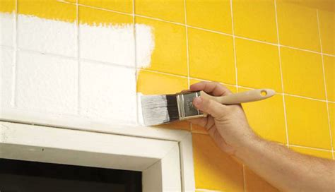 miscellaneous yellow wall tile paint can you paint tile tile painting can you paint ceramic