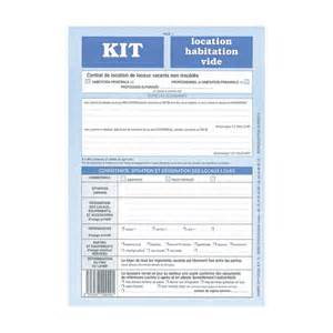 kit location habitation vide pdf gratuit table de lit a