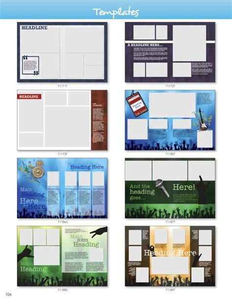 yearbook layout programs templates pictavo art guide pinterest yearbooks