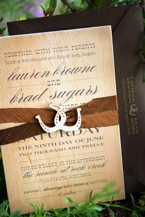Western Wedding Invitations by Memorable Wedding Country Wedding Theme 3 Ideas For