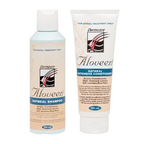 aloveen oatmeal shampoo conditioner  dogs  ml