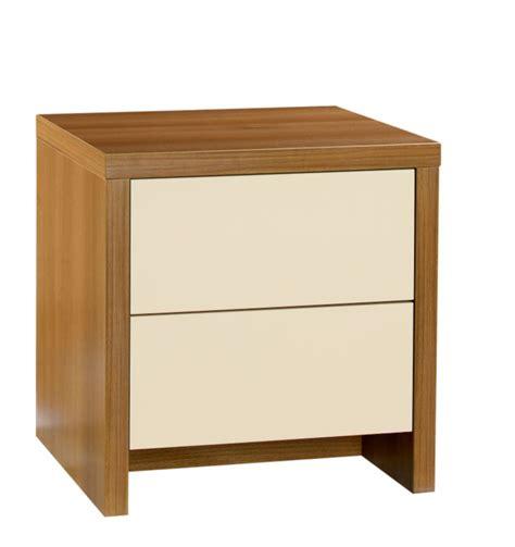 Bandq Bedroom Furniture Designer 2 Drawer Bedside Cabinet Walnut And Vanilla Gloss Bedroom Furniture Review Compare