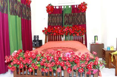 Pin by My Wedding Journey on Wedding Bed Decoration