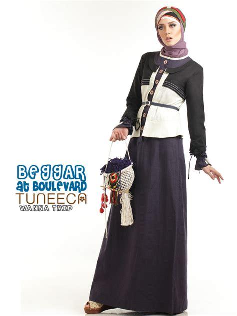 model tuneeca tuneeca 0413023 a baju muslim gamis modern