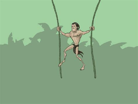 tarzan the monkey man swinging on a rubber band song change careers like tarzan derek sivers