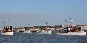 the little ships a dunkirk 75th anniversary celebrated with flotilla of little ships daily mail online