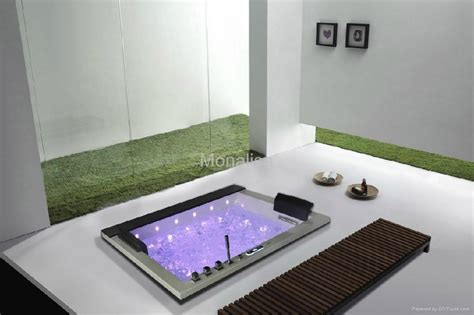 Luxor Whirlpool With Built In Tv Is The King Of Bathtubs by Home Built In Square Tub With Led Light M 2050